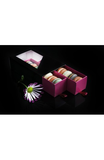 Macarons box with drawer
